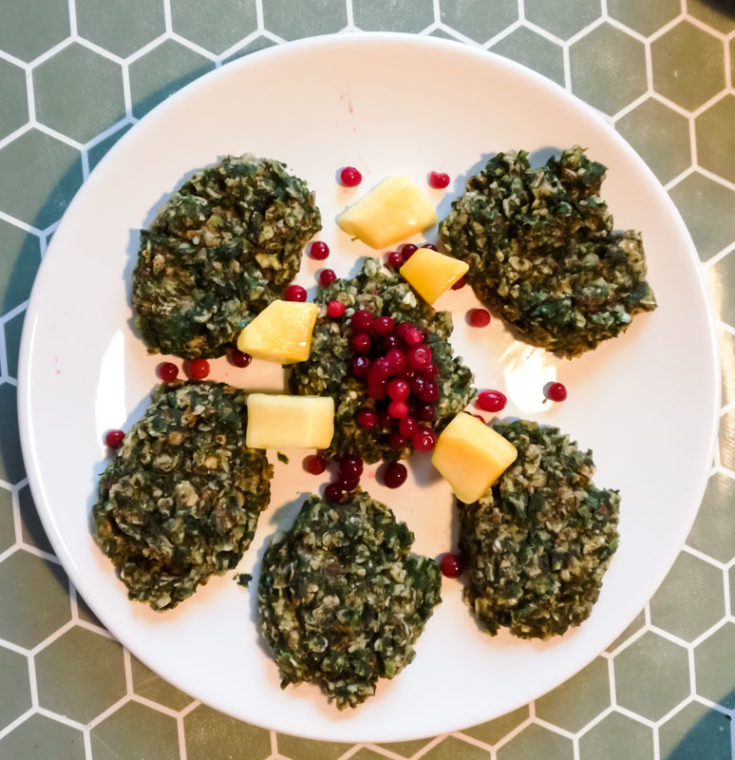 Vegan Spinach Pancakes